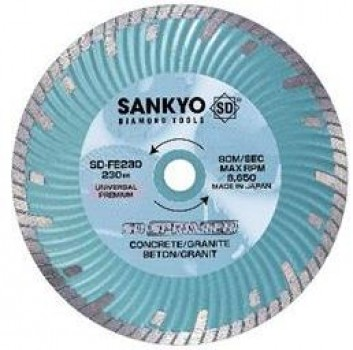 Diamant TS Sankyo SD-FE Sprinter Ø150mm